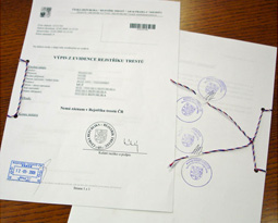 Asseverazione tribunale Roma
